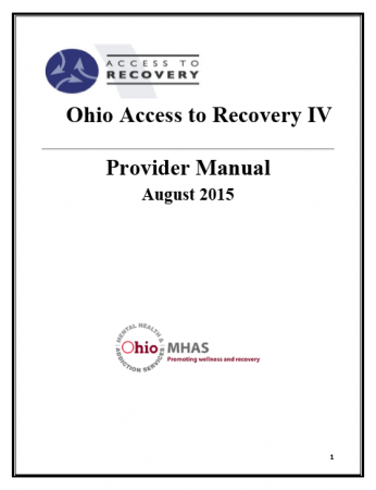 ACCESS TO RECOVERY HANDBOOK