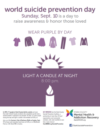 World Suicide Prevention Day flyer
