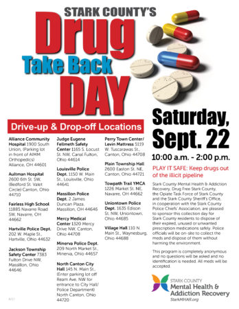 Drug Take Back Day Flyer