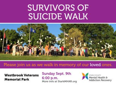 Survivors of Suicide Walk Social Image